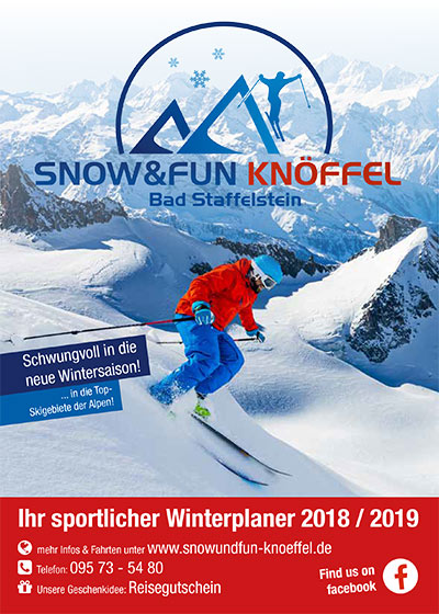 Snow & Fun Knöffel - Download Reiseprospekt