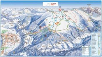 Pistenplan für Brixen-Plose